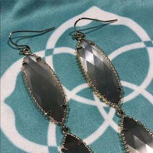 Kendra Scott Jewelry - Kendra Scott Harrah Long Earring in Slate